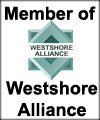 Website Design and SEO Company JCR Enterprise Inc is a member of the Westshore Alliance, logo shown